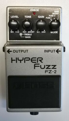 BOSS FZ-2 HYPER Fuzz Guitar Effects Pedal 1994 #79 DHL Express or EMS
