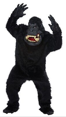 Adult Goin' Bananas! Gorilla Full Suit Costume One Size (Gorilla Suit Costume)