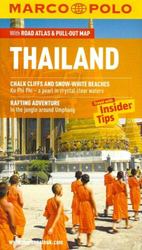 Thailand, Road Atlas & Pull-Out Map, by Marco Polo Maps