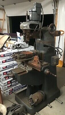 Bridgeport Milling Machine J-head