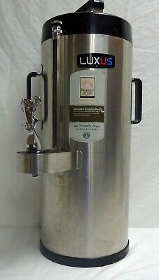 Fetco Luxus Tpd-15 Thermal Stainless Steel 1.5 Gallon Coffee Dispenser