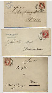 18.. 3 Briefe! Interessantes Lot! - <span itemprop=availableAtOrFrom>Eberau, Österreich</span> - 18.. 3 Briefe! Interessantes Lot! - Eberau, Österreich