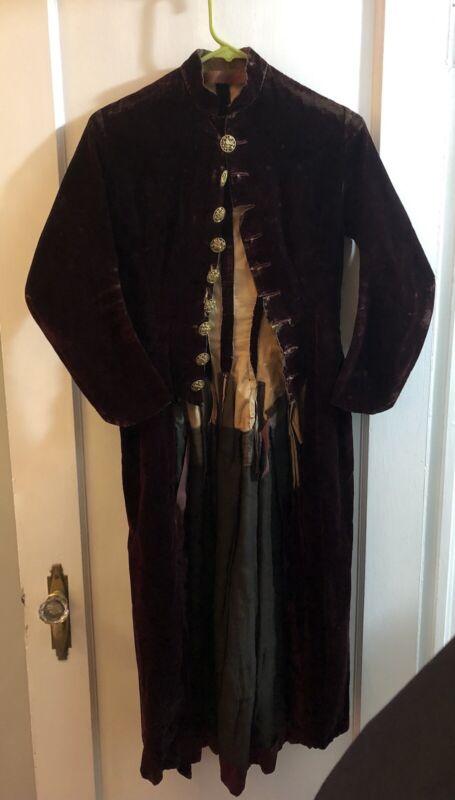 1800's Velvet Tail Coat