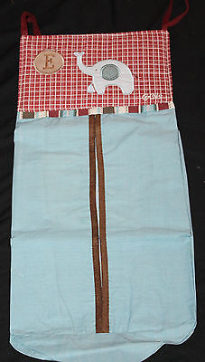 Collection Baby Diaper Stacker - CoCaLo Baby Diaper Stacker Jackson Collection ELEPHANT blue nwop
