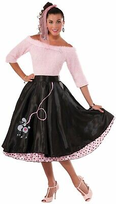 Adult 50s Poodle Skirt Grease Costume Standard (Grease Poodle Skirts)