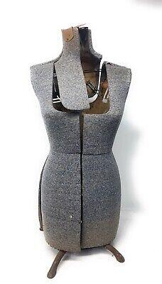 Vintage Acme Size B Adjustable Dress Form Mannequin Display Metal Dressmakers
