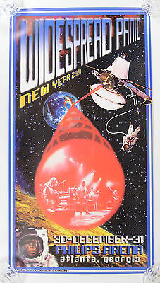 Widespread Panic Official Concert Poster 2000 New Years Philips Arena Atlanta GA