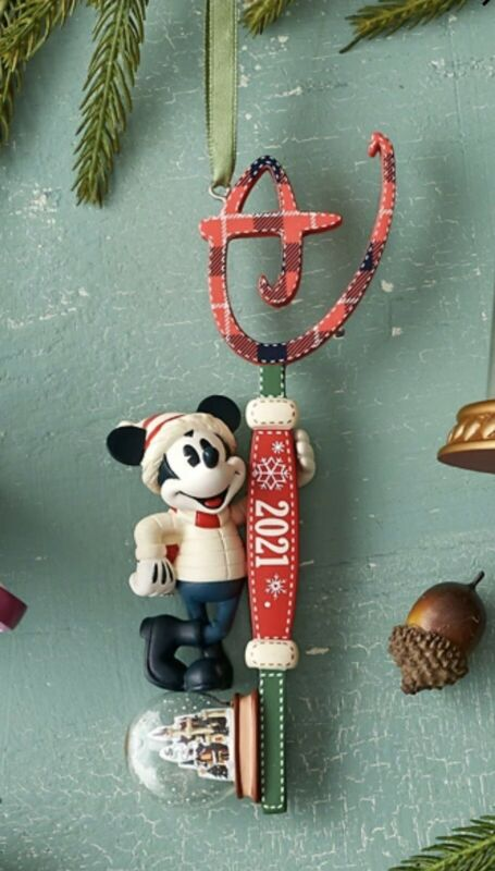 disney Store 2021 Key Ornament Preorder