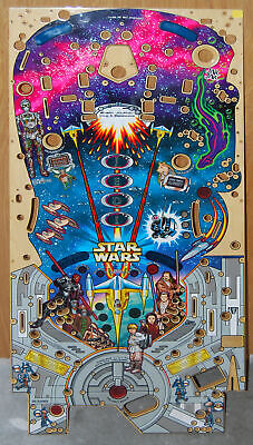 Williams - Star Wars Episode 1- Pinball Playfield NOS