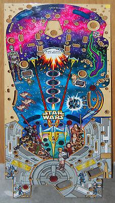 Williams - Star Wars Episode 1- Pinball Playfield NOS