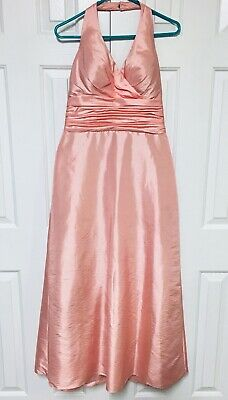 Bill Levkoff Formal Dress Sugar Plum Pink Fairy Princess Halter Pleated Prom 10  - Sugar Plum Fairy Dress