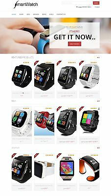 Amazon Affiliate Store - Smart Watch Website Ecommerce