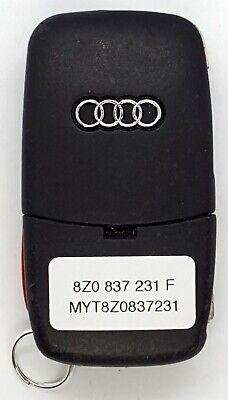 OEM Audi Flip/Switchblade Style Keyless Remote Fob MYT8Z0837231 (231 F)