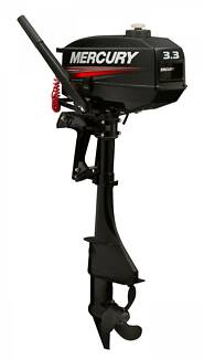 New Mercury 3.3HP 2-stroke Outboard Engine