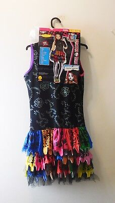 Monster High Skelita Girl's Costume Dress Size L (10-12) Cosplay or Halloween - Monster High Cosplay Costumes