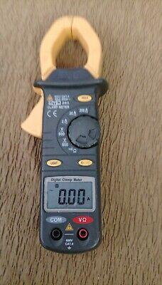 Uei 260 Digital Clamp Meter Universal Trade Line Ac 600vacvdc 200 Needs Battery