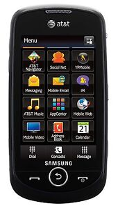 New Samsung Solstice II A817 Unlocked GSM Touch Phone 2MP Camera GPS Bluetooth