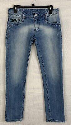 Diesel Black Gold Mens Distressed 100% Cotton Jeans (31Wx30L)
