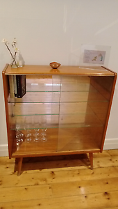 Gorgeous wooden mid century display cabinet. Very good condition. Northcote Darebin Area Preview