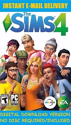 The Sims 4   Instant Digtal Download Account Pc Mac   Multilanguage