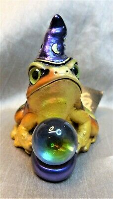 Windstone Editions Autumn Leaf Frog Wizard Test Paint #1