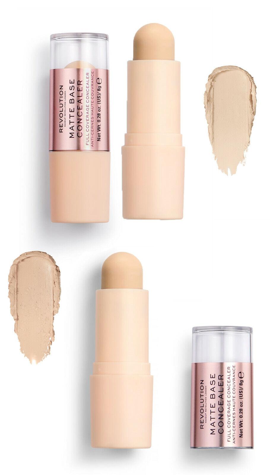 Makeup Revolution Matte Base Concealer Stick Ebay