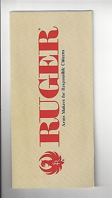 Ruger Firearms Brochure - undated