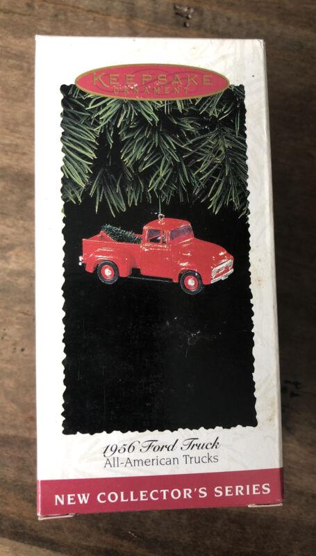 Hallmark 1956 FORD TRUCK All American Trucks Keepsake Ornament 1st in the Series