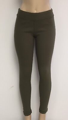 Cotton Spandex Knit Pants - Ladies Cotton Spandex Rib Knit Legging Pant Sizes S-M-L-XL Color Light Sage NWT
