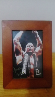 Stone Cold Steve Austin Signed Picture