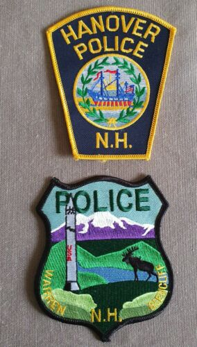 USA - 2 x Different Police Patches - New Hampshire #5