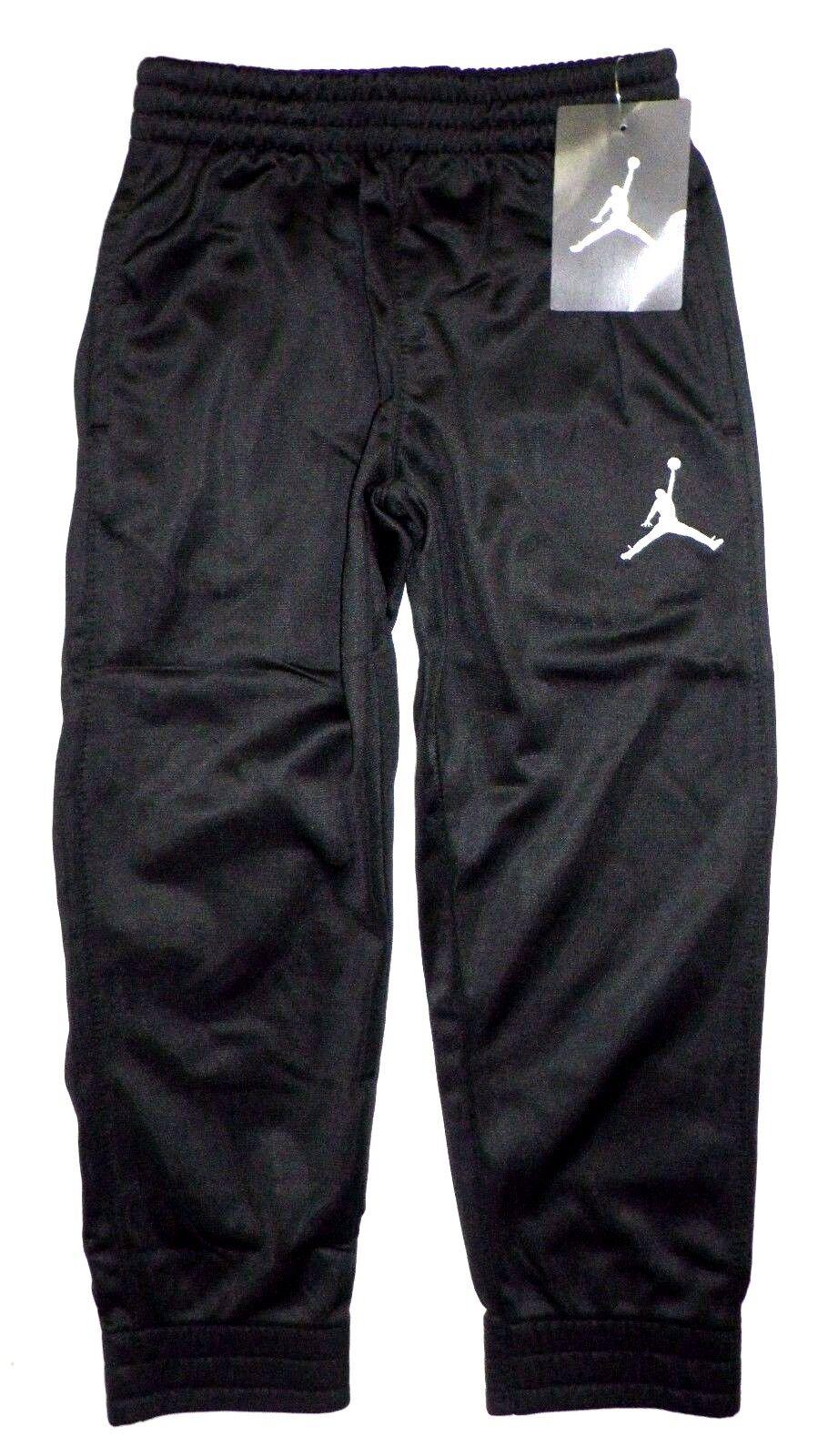 NWT NIKE AIR JORDAN Boys JUMPMAN Jogger Sweat Pants BLACK To