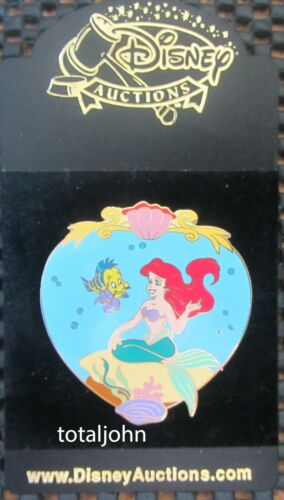 37212 Disney Auctions - Ariel and Flounder Pin