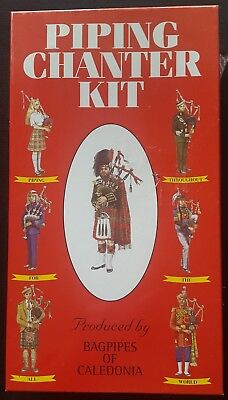 a0f99c6e5930 PIPING CHANTER KIT CD EDITION By BAGPIPES OF CALEDONIA MADE IN SCOTLAND -  NEW
