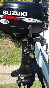 Suzuki 6hp. Four Stroke Outboard Motor Lowood Somerset Area Preview