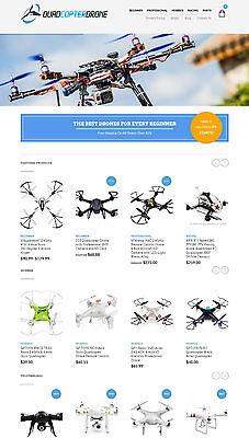Drones Store Website - Ecommerce Amazon Affiliate