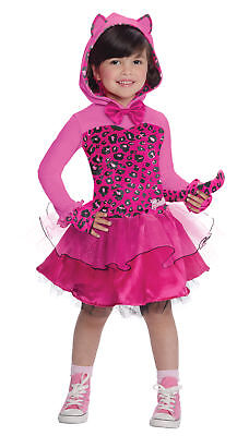 Barbie Kitty Child Girls Costume Tail & Hooded Tutu Fancy Dress Rubies (Barbie Kitty Costume)