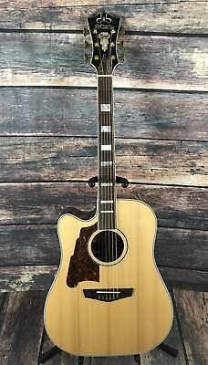D'Angelico Left Handed Excel Bowery Acoustic Electric Guitar