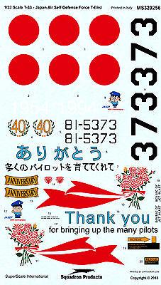 Super Scale T-33 Decals 1/32 Revell Monogram Hasegawa Trumpeter Tamiya Hobbyboss