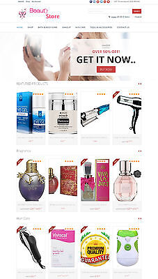 Beauty Products Store - Affiliate Website