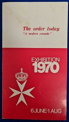 1970 Malta SMOM Exhibition booklet cancelled 3rd May 1976 various stamps.