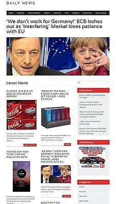 News Website - Autopilot
