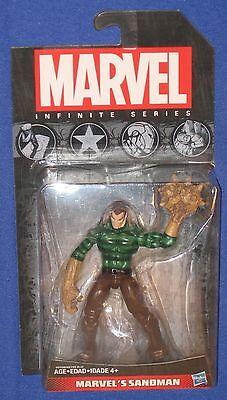 "Marvel Sandman 4"" Action Figure 2014 Infinite Hasbro MOC Universe Spider-Man"