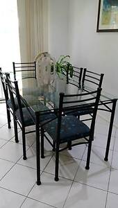 Glass dining table Glendenning Blacktown Area Preview