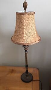 Table lamp for bedroom or living room.
