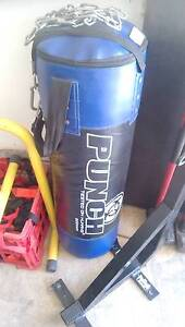 PUNCH BOXING BAG WITH STAND Morningside Brisbane South East Preview