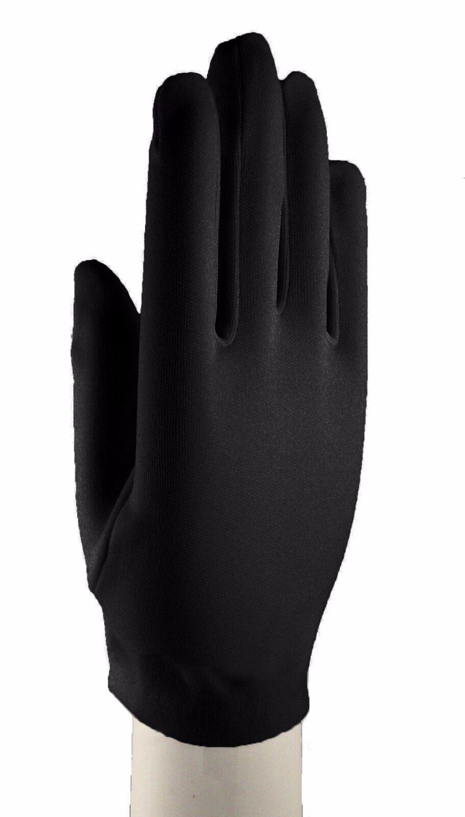 Black dress up gloves -  Black Wrist Length Dress Gloves Dress Up Church Formal