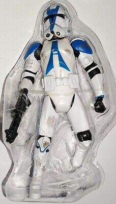 "Star Wars Battlefront II CLONE TROOPER 3.75"" Figure Blue 501st Legion"