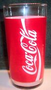 White Coca Cola Glass
