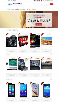 Electronics Store - Affiliate Website Shopping Cart